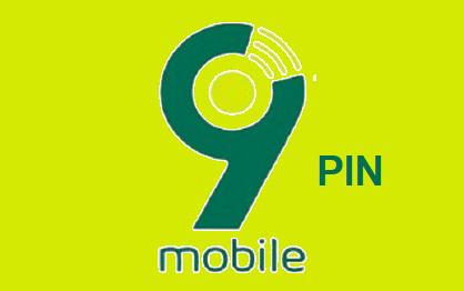 9Mobile Airtime Pin